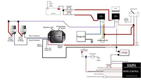 nitrous solenoid wiring diagram circuit diagram maker