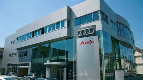 Audi Car Dealership Building Luxembourg