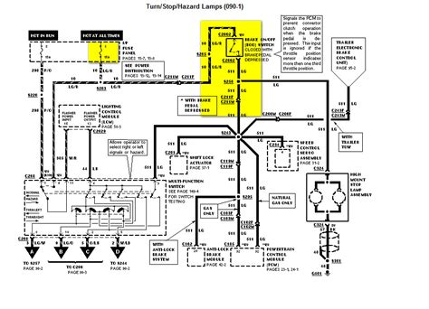 1971 F100 Charging System Wiring Diagram by 97 Ford Crown Vic Brake Lights Won T Come On Won T