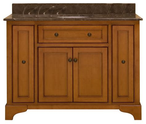Distressed Bathroom Cabinets by Wood Hs4821d Light Distressed Medium 48