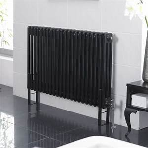 Hudson Reed Heizkörper : hudson reed radiateur style fonte 60 x 2002 watts noir laqu windsor products and style ~ Watch28wear.com Haus und Dekorationen