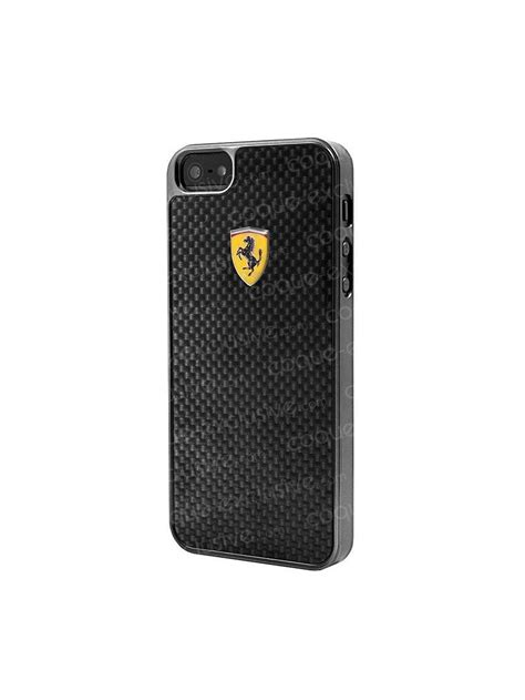 coque rigide ferrari scuderia collection carbone pour