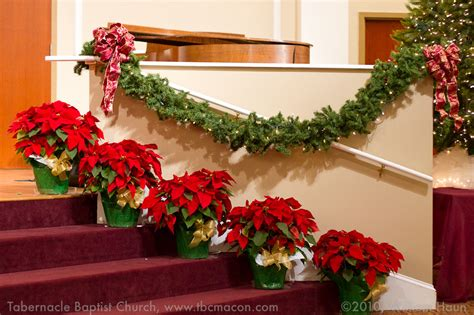 church christmas decorations tabernacle baptist church - Christmas Church Decorations