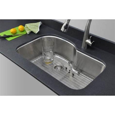 single bowl kitchen sink with offset drain sinkware 18 offset single bowl undermount 9765