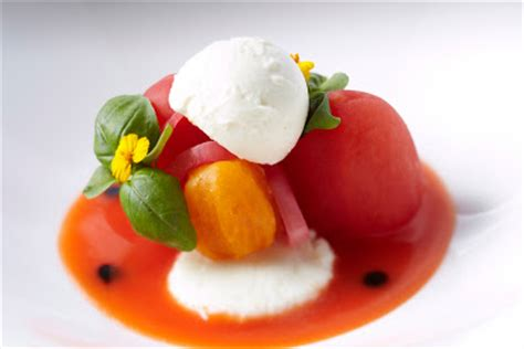 cuisine sodexo ascot racecourse heirloom tomato and basil salad with