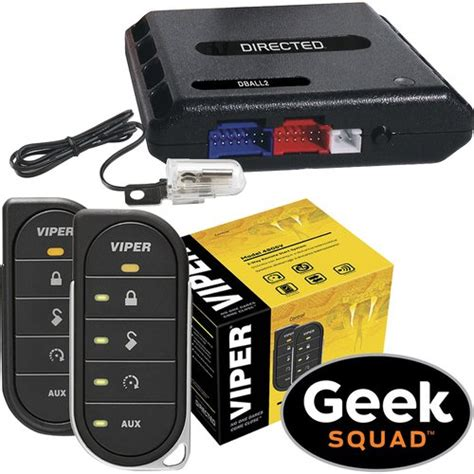 viper viper 4806v 2 way led remote start system tilt switch interface module and geek squad