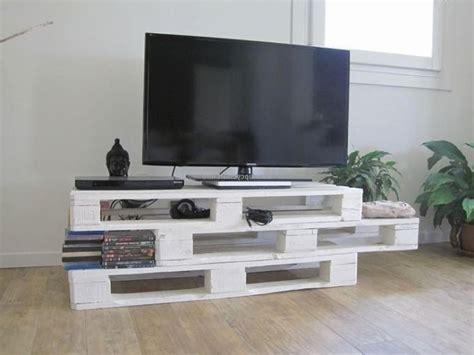 fabriquer un meuble tv en palette impressionnant fabriquer
