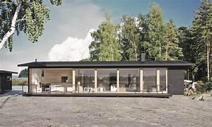 Sunhouse Modern Prefab Includes Finnish Sauna