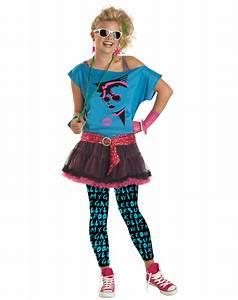 CK76 Valley Girl Teen Pop Star 80's Child Halloween Fancy ...