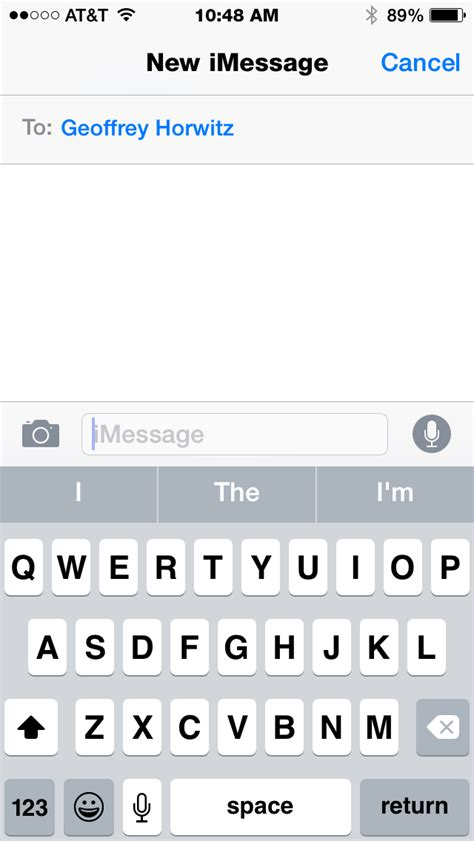 imessage template the macmentor imessage updates in ios 8