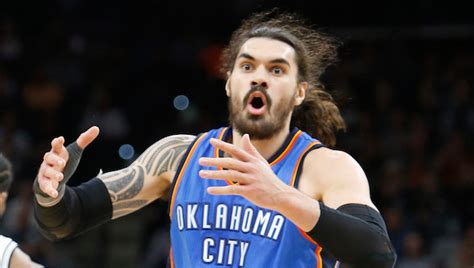 Steven Adams Cussed Out The Rim After A Missed Free Throw