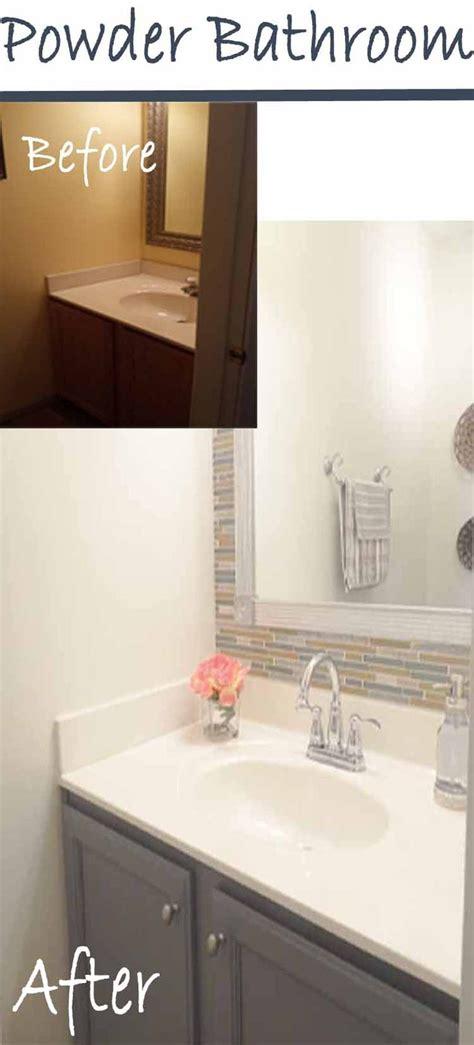 Half Bathroom Makeovers by Best 25 Half Bath Remodel Ideas On