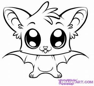 Step 6. How to Draw a Cute Bat