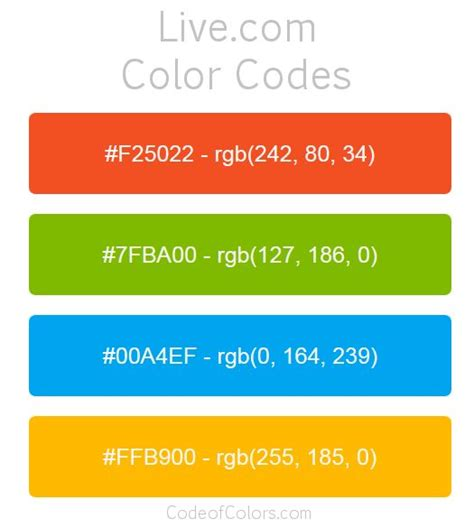 25 best ideas about rgb color codes on rgb