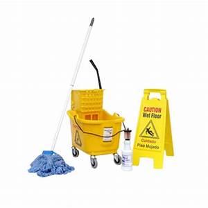 Floor Bucket & Mop Wringer Package