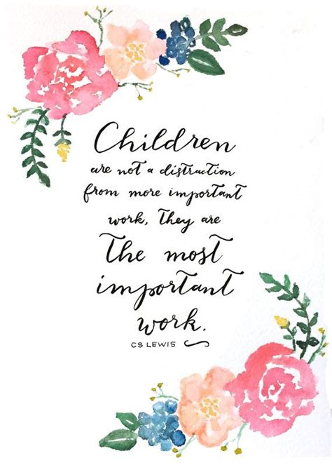 important work  print hand lettered cs lewis
