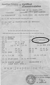 Carte Grise Numero Vin : comment trouver numero d identification du vehicule ~ Medecine-chirurgie-esthetiques.com Avis de Voitures
