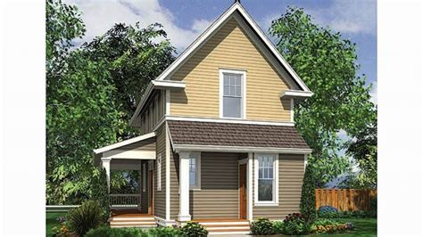 Small Home House Plans For Narrow Lots Small Homes Plans