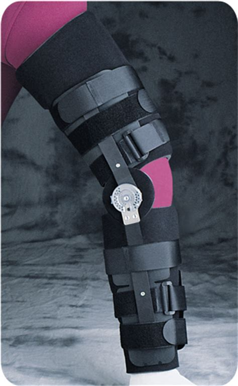 genu ranger hinged knee brace