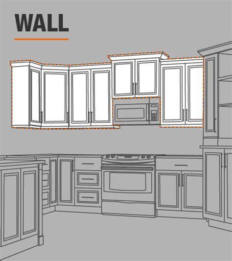 hampton bay shaker assembled xx  wall kitchen