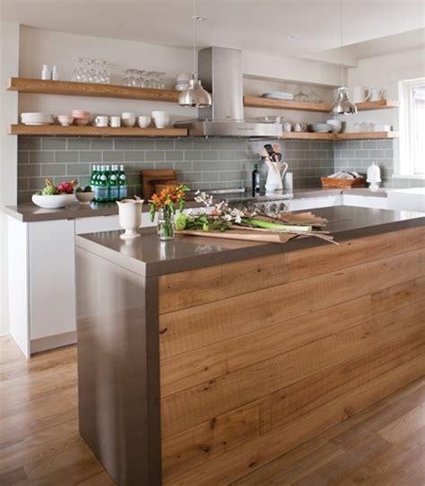 cuisine rustique et moderne chambre bleu horizon