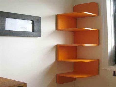 wall shelving ideas diy shelving unit diy unique vibrant orange decorative corner wall shelving units design ideas