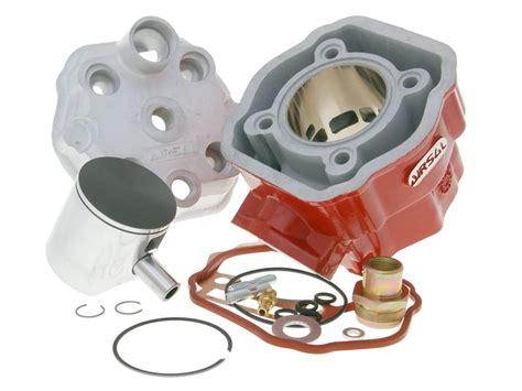 cylinder kit airsal xtrem 78cc 50mm 40mm for derbi d50b0 2006