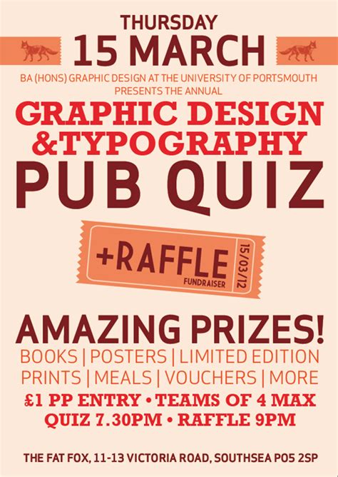 graphic design typography pub quiz archives strong island