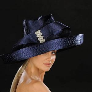 elegant wide brim ladies dress hat shenor collections With dress hats for weddings