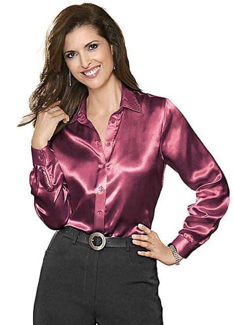 satin blouse swarovski satin blouse by witt witt international