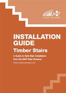 New Stair Installation Guide Launched By Bwf