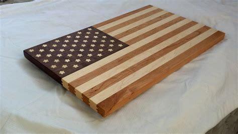 cutting board designer usa flag cutting board