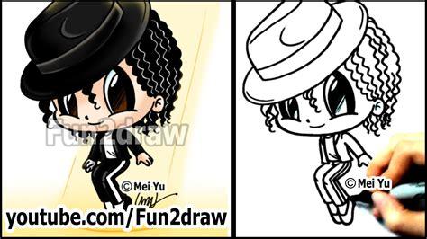 Michael Jackson Cartoon Drawing Lesson