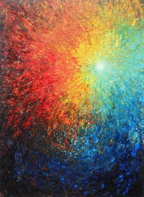 25 best ideas about abstract acrylic paintings on