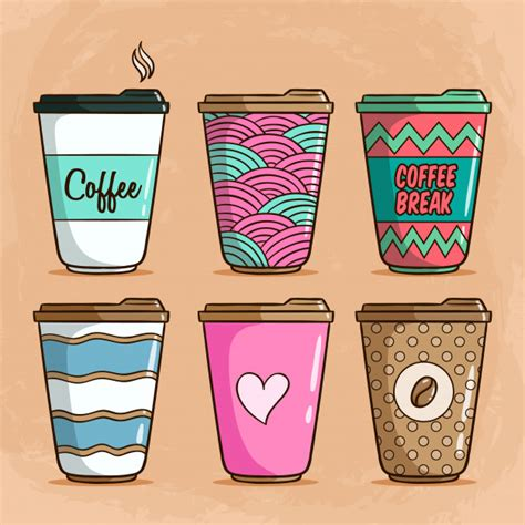 An svg's size can be increased or decreased without a loss of quality. Cute Coffee Cup Doodle - Free Template PPT Premium Download 2020