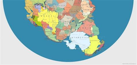 This is what Pangea would look like with our current ...