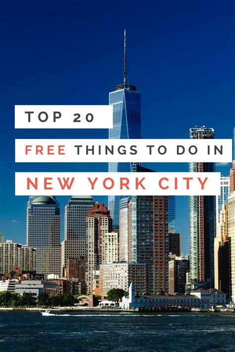 Top 20 Free Things To Do In New York City Earth's