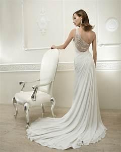 Robe De Mariée Dos Nu Plongeant : 20 robes de mari e dos nu 2013 ~ Melissatoandfro.com Idées de Décoration