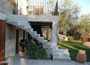 renovation d39escalier en exterieur vers une terrasse With modele escalier exterieur terrasse 1 escalier gradine rampe garde de corps