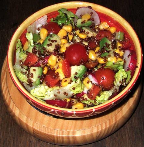 salade au quinoa rouge ma cuisine sante