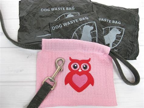 dog waste bag holder  sewing pattern favecraftscom