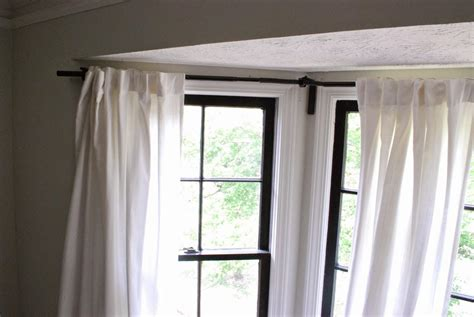how to dress corner windows drapery curtain corner window curtain menzilperde