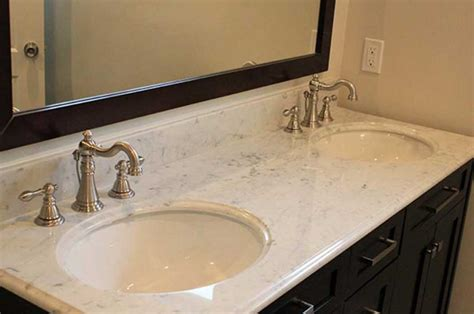 grey marble bathroom countertop with bathroom sinks
