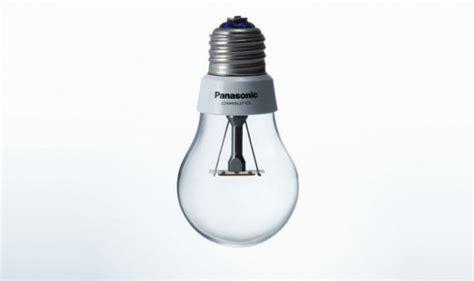 panasonic designs energy efficient led bulb that looks