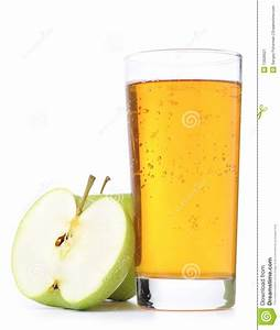 Glass Of Apple Juice Cutout Stock Image - Image: 13928521