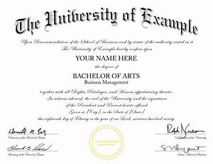 buy a fake college degree online With fake college degree template