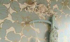 Papier Peint Japonisant : papier peint fleurs un jardin int rieur papier peint ~ Premium-room.com Idées de Décoration