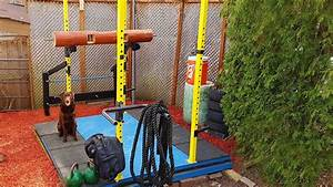 Awesome Outdoor Gym and Weightlifting Platform DIY - YouTube