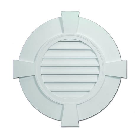 decorative gable vent covers fypon 32 27 32 in x 32 27 32 in x 2 13 51 in