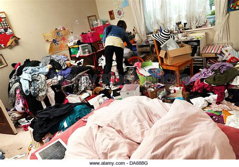 Messy Bedroom Clothes Stock Photos & Messy Bedroom Clothes